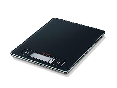 Soehnle Báscula de cocina Page Profi, balanza digital con función de tara y bloqueo, peso electrónico con capacidad de 15 kg y apagado automático