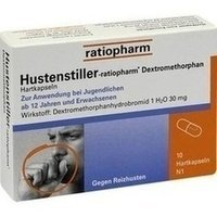 HUSTENSTILLER ratioph.Dextromethorphan Kapseln 10 St