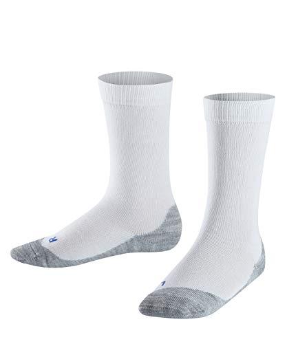 FALKE FALKE Kinder Socken Active Sunny Days - Baumwollmischung, 1 Paar, Weiß (White 2000), Größe: 35-38