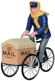2012 Sale special price Mail Delivery Cycle Village Max 70% OFF Christmas Figurine
