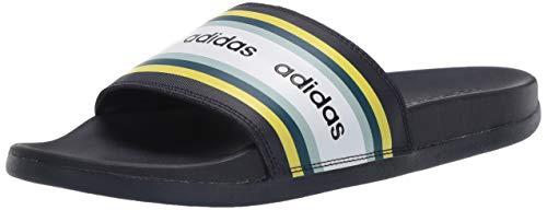 adidas Damen FARM Rio Adilette Comfort Slides Rutsche, Legend Ink Shock Yellow FTWR White, 36 EU
