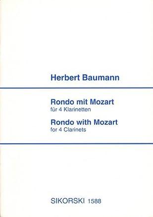 Rondo con Mozart: per 4klarinet di Ten