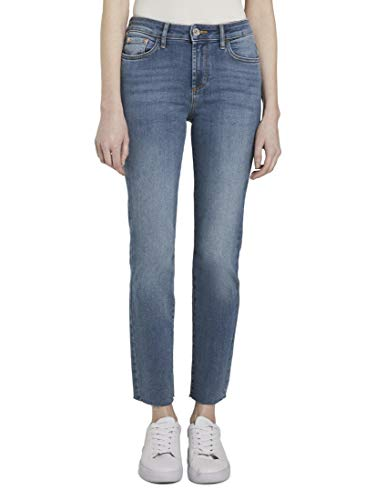 TOM TAILOR - Jeans da donna Kate Slim Light Stone Wash Denim 35
