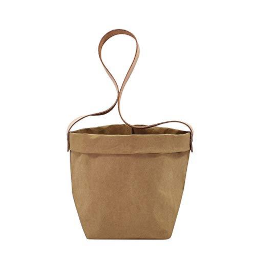 Fenteer Pot de Fleur Jardinière Pot de Papier Kraft Jardinage Décor - Carré 13cm
