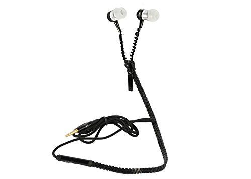 Xtreme 40187 Auricolare Zip Audio & Talk Tahiti, Connettore Jack 3,5 mm e Cavo da 1,2 mt con Microfono