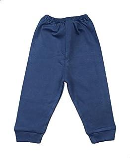 Skills Plain Elastic Cuffs Unisex Pants - Navy, 3-6 Months