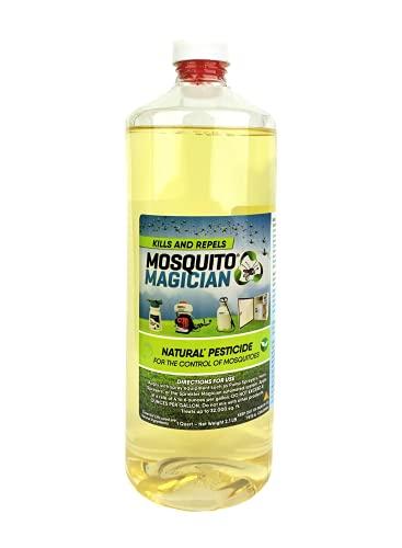 Mosquito Magician Natural Mosquito Killer & Repellent Concentrate 1 Quart