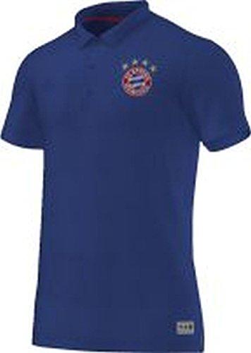 adidas Herren Poloshirt FC Bayern Polo, Collegiate Royal/Fcb True Red, L, S13612