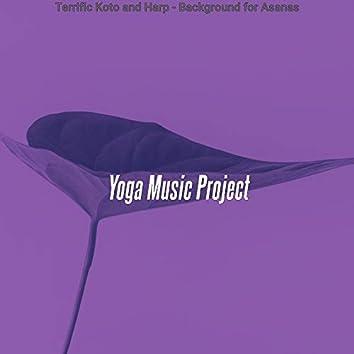 Terrific Koto and Harp - Background for Asanas