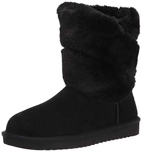 Koolaburra by UGG Dezi Short Boot, BLACK, size 9