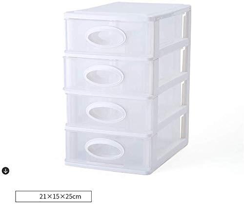 Office Storage Box Sundries Bestand Kasten Kunststof Lade Type benodigdheden Zakelijke Kaarten Nuttige Goederen Pp Opbergdoos 4 layers A1