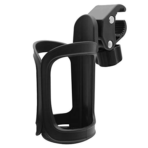 Stroller Drink Holder Normei Universal Stroller Cup Holder 360°Adjustable For Stroller Wheelchair Bike Bicycle Water Bottle Holder Rack Cage