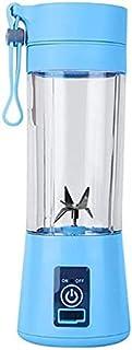 LINANNAN Juicer Cup 380ml USB Rechargeable Smoothie Mélanger Machine à mélanger 6 Lames Accueil Juicer Électrique Bouteill...
