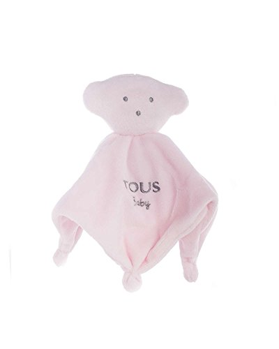 Tous Baby- Mantita de Seguridad, Color Rosa (T.Bear-602_00047_0/36M)