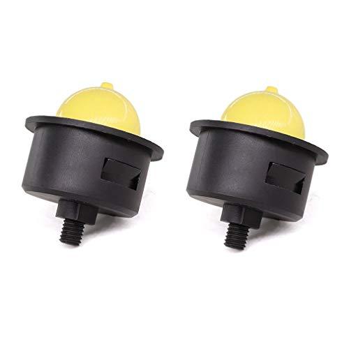 AISEN 2X Benzinpumpe Primer Pumpe für Hecht 40 541SX 5410SH 553SX / Fuxtec FX-RM Serie Rasenmäher