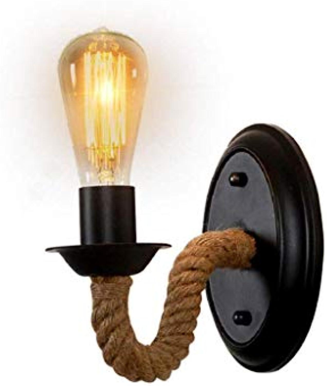 XHCP Seilfrmige Wandleuchte im Vintage-Stil für Leuchten, für die Künstlerwerkstatt
