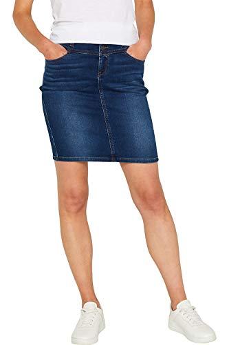 Esprit 089ee1d011 Falda, Azul (Blue Dark Wash 901), 38 (Talla del Fabricante: 36) para Mujer