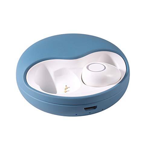 DHB Bluetooth Kopfhörer,Wslhcsure Bluetooth Kopfhörer Kabellos V5.0 Touch Bluetooth Headset Sport Ohrhörer Wireless In Ear Kopfhörer,Blue