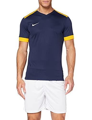 Nike Park Derby II SS, T-Shirt Uomo, Bianco Jersey Gold/Nero, L