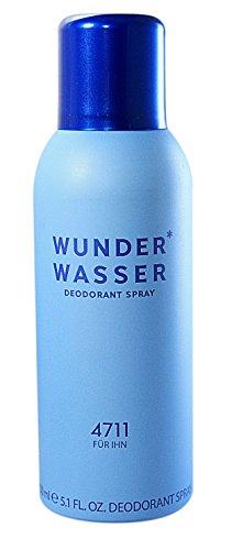 4711 Wunderwasser für Ihn homme/men, Deodorant Spray 150 ml, 1er Pack (1 x 0.134 kg)
