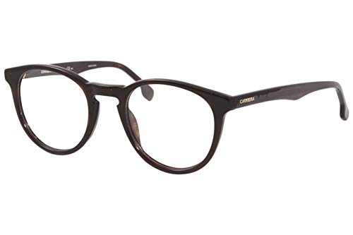 Carrera 136/V 086 4922 Full Rim Round Spectacle Frame (Dark Havana)