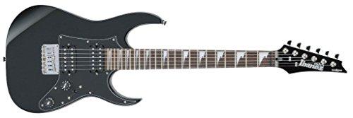 Ibanez GRGM21GB-BKN - Guitarra eléctrica (pastillas humbucker, puente fijo, caoba)