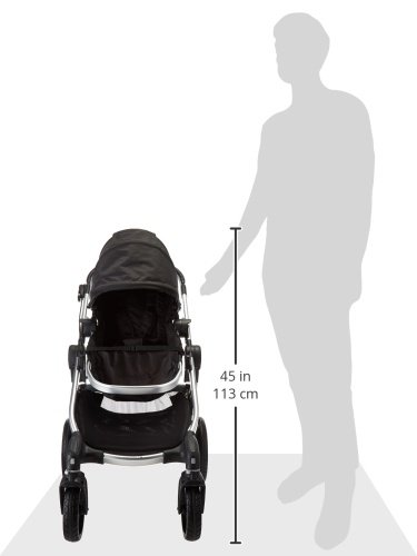 Baby Jogger City Select Stroller - 2016   Baby Stroller with 16 Ways to Ride, Goes from Single to Double Stroller   Quick Fold Stroller, Onyx