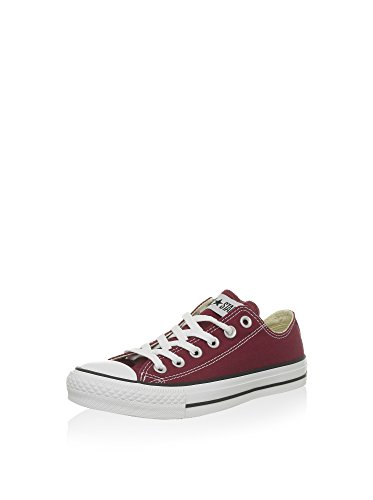 Converse Chuck Taylor All Star Canvas Low Top Sneaker, maroon ,5.5 mens_us/7.5 womens_us