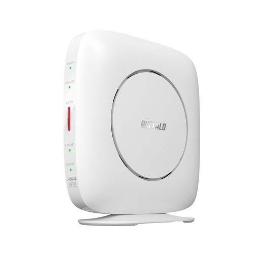 WSR-3200AX4S/DWH [Wi-Fi 6 無線LANルーター 11ax/ac/n/a/g/b 2401+800Mbps Ipv6対応]