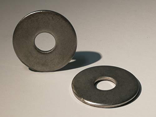 25 piezas arandelas de acero inoxidable A2 DIN 440 (Acero inoxidable, M6)