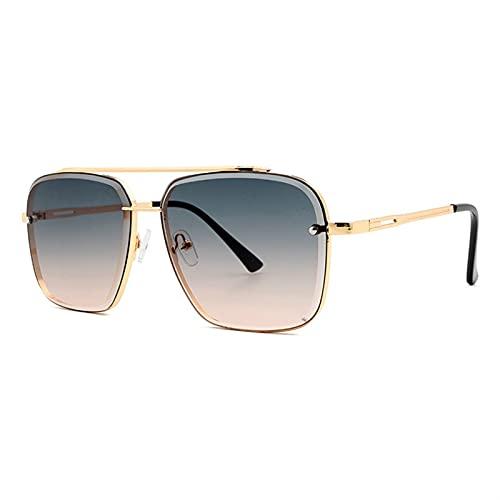 YWSZY Gafas de Sol Fashion Classic Gradient Gafas de Sol Gafas de Sol UV400 (Lenses Color : Green)
