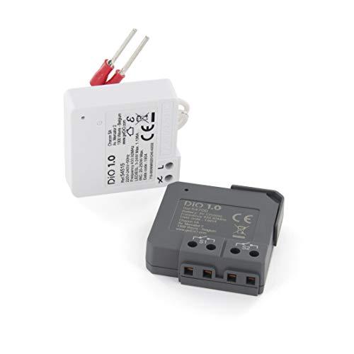 Kit va-et-vient Sans Fil DiO ( Micromodules d'interrupteurs Sans Fil récepteurs + émetteurs) - DiO 1.0. (433Mhz)