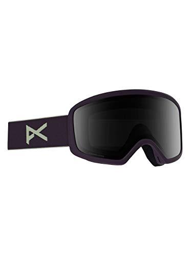Anon Damen Deringer Mfi Snowboard Brille, Purple/Sonarsmoke