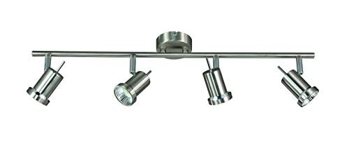 Action Deckenleuchte, 4-flammig, Serie Hoorn, 4 x LED, 5 W, Breite 8 cm, Höhe 14 cm, Tiefe 63 cm, Ke
