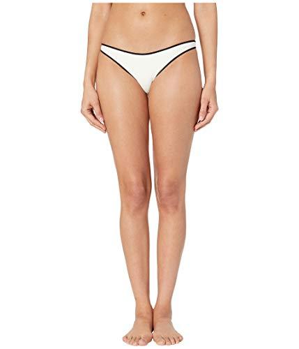 Stella McCartney Body Cut Outs Classic Bikini Bottoms Cream/Black SM