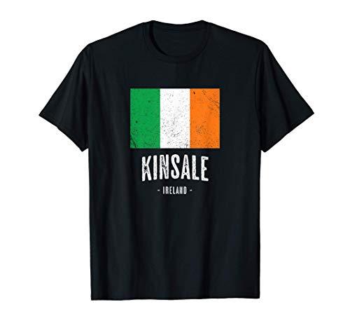 Città di Kinsale Irlanda   Bandiera irlandese Souvenir - Maglietta