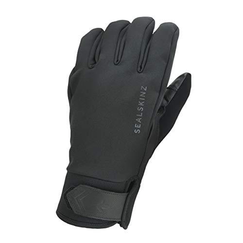 SEALSKINZ Unisex wodoodporna rękawica izolacyjna na każdą pogodę, czarna, M