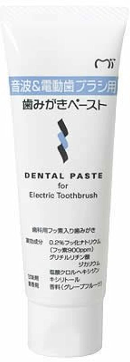 名前を作る意志億音波&電動歯ブラシ用 歯磨きペースト