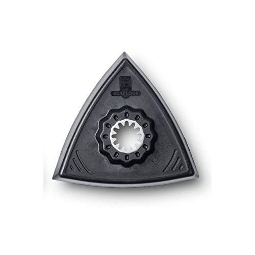 Fein 63806129220 - Triángulo en forma de almohadilla de lijado sin perforar (paquete de 2)