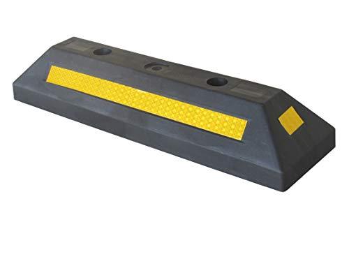 PWS-32Bx1 Stop Kunststoff Parking, für gewerbliche und häusliche Parkplätze und Private Garagen, Schwarz Farbe, 53 x 15 x 9,5 cm (1 Stück)
