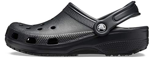 Crocs Classic Zuecos Unisex Adulto Black 41-42