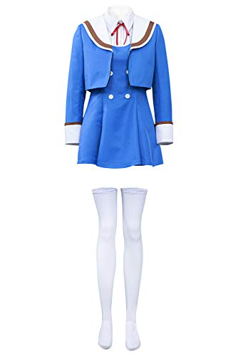 Bilicos Shinzaki - Disfraz de uniforme de Kuon para Halloween