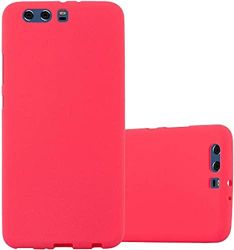 JOSMA 6 x Funda para Huawei P10 Plus Ultra Fina Soft TPU Silicone Carcasa 360 Grados Antigolpes Anticaída Arañazos(Negro, Azul Oscuro, Rojo,Verde, Rosa, Transparente)