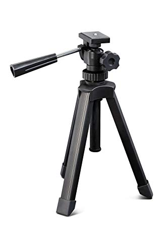 Kronus Unisex's 3-POD-8 Spotting Scope statief, Zwart, 20-35 cm