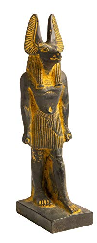 Discoveries Egyptian Imports - Anubis Statue with Brown Finish 7