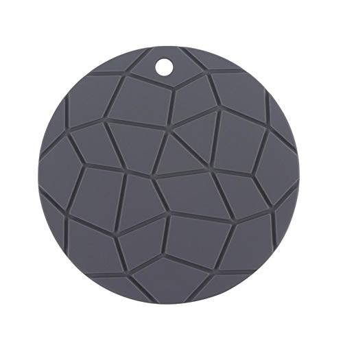 Demarkt - Salvamanteles de silicona, resistente al calor, apto para lavavajillas, diseño moderno y sencillo