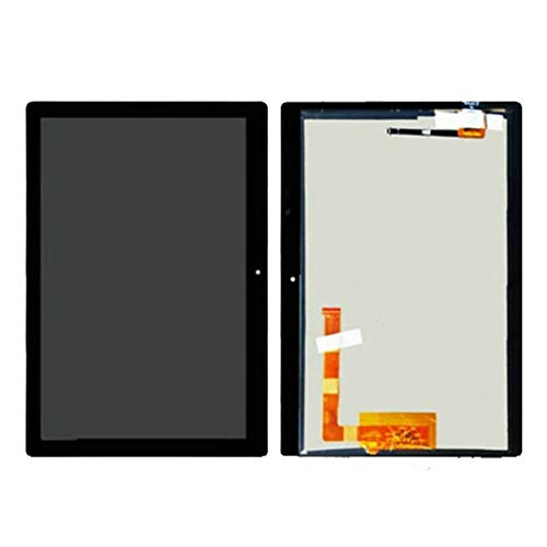 Screen replacement kit Fit For Lenovo TAB E10 E 10 TB X104 TB-X104 TB-X104F TB-X104N TB-X104L LCD Display Touch Screen Digitizer Full Assembly Repair kit replacement screen (Color : Black)