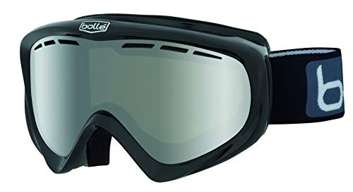 bollé Y6 OTG Shiny Black/Black Chrome Medium-Large Ski Goggles Unisex-Adult