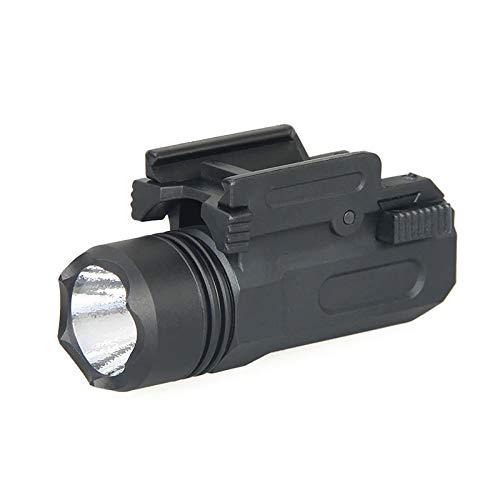 Linterna LED para picantinny | para Pistolas y escopetas de Airsoft y balines.