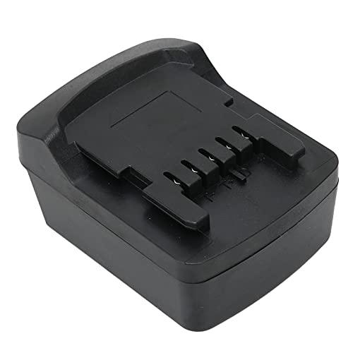 Adaptador convertidor de batería de 18 V, conector de alimentación de repuesto para Milwaukee a para Metabo, herramienta eléctrica de batería de litio de 18 V, accesorio de adaptador de batería de lit
